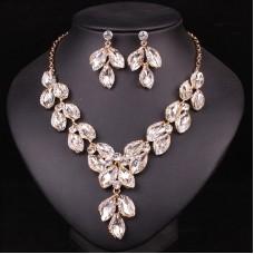 Biely náhrdelník Crystal Swarovski Elements BN3 Nova Moda Swarovski Elements