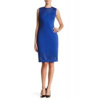 Calvin Klein Modré Šaty Bez Rukávov M
