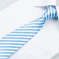Luxusná kravatová súprava Blue Stripe