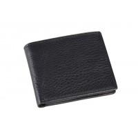Čierna Pánska Kožená Peňaženka