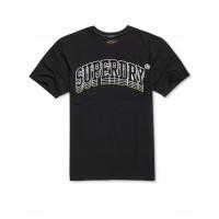 Pánske Tričko Superdry BOXY TEE Čierne, Veľkosť L