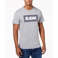 G-Star RAW Pánske Sivé Tričko, Veľkosť M