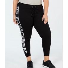 Dámske Čierne Tepláky Calvin Klein Veľkosť 46-48 Nova Moda