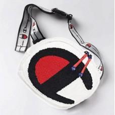 Unisex Biela Ľadvinka Crossbody Champion 423 Nova Moda