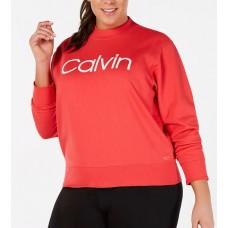 Dámska Mikina Calvin Klein Orange , Veľkosť 48-50 Nova Moda