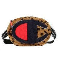 Unisex Champion Leopard Print Belt Bag Crossbody 5656
