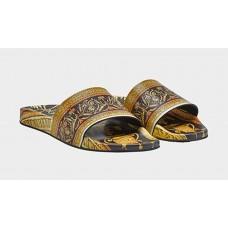 Pánske Šľapky VERSACE s Barokovou Tlačou veľkosť EU 40 Nova Moda