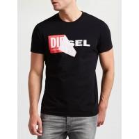 Čierne Pánske Tričko DIESEL Veľkosť L