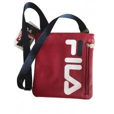 FILA Logo Červená Crossbody Kabelka 487 Nova Moda