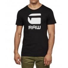 G-Star RAW Pánske Čierne Tričko s Logom Veľkosť XXL Nova Moda G-Star RAW