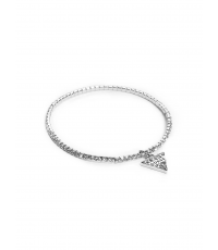 Guess Náramok Siver Triangel G234