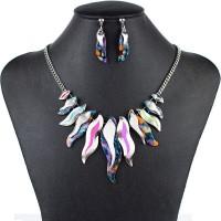 Farebný náhrdelník Rainbow FMJ U124
