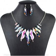 Farebný náhrdelník Rainbow FMJ U124 Nova Moda FMJ