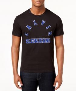 Čierne Pánske Tričko Calvin Klein Velkosť L