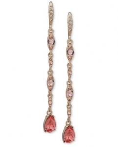GIVENCHY Dámske Náušnice Pink Crystal 111