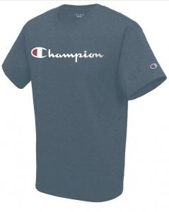Pánske Tričko Champion Modré Veľkosť XL