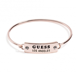 GUESS Náramok Los Angeles Pink G263
