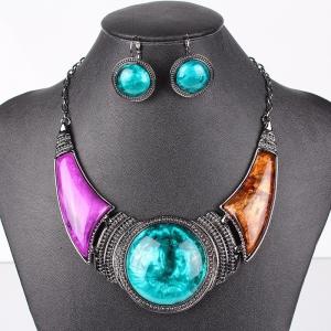 Farebný náhrdelník Golem FMJ 37737